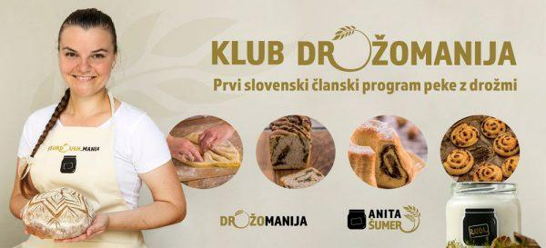 KLUB DROŽOMANIJA - Prvi slovenski članski program za peko z drožmi